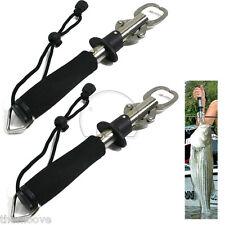 2x Fish Grip Lip Trigger Lock Fishing Tackle Gripper GRABBER Grab Scale Tool AU