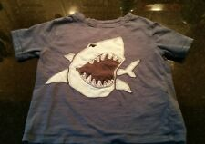 Baby Gap T Shirt Toddlers Boys Size 2 Years shark blue