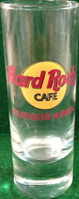 """Hard Rock Cafe Buenos Aires 4"""" Shot Glass Classic Hrc Logo with Red Text Cordial"""