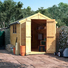 10x6 Wooden Shed - BillyOh Windowed Double Door Master Tongue & Groove Apex