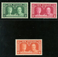NEW ZEALAND 1935 Silver Jublee set MLH VF
