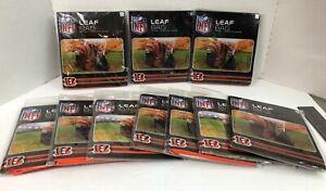 Lot of 10 NFL Cincinnati Bengals Leaf Bags Factory Sealed New