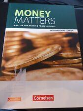 Money Matters Englisch für Bankkaufleute Neu 2016 Buch Business Englisch schule