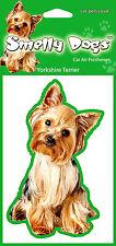 2 x Yorkshire Terrier Yorkie (b) Fragrant Air Freshener - Perfect Gift