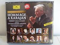 CD ALBUM Hommage a Karajan COCHEREAU DOMINGO CARRERAS BATTLE NORMAN .. 429 442 2