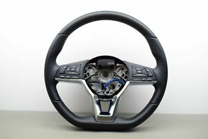 NISSAN QASHQAI J11 Leather Multifunction Steering Wheel OEM 34231448 2019