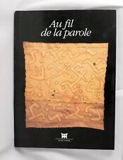 Au fil de la parole, book about textiles from Africa