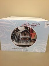 NEW Department Dept 56 Winters Frost Creek Mill House Holiday Christmas