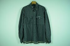 BERGANS OF NORWAY _ MEN'S FLANNEL CHECKED SHIRT WITH LINING _ L