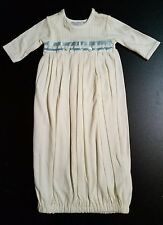 NWT BABY BEAU & BELLE  Handsome Layette Gown Bunting Newborn REBORN 0-3 Months