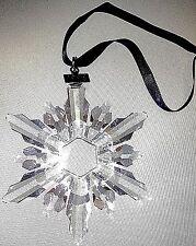 Swarovski 1998 Christmas Star / Snowflake - Mint, ornament only