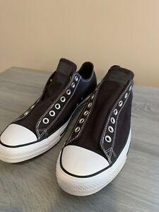 Converse Chuck Taylor Men Size 11 Laceless Dark Drown Brand New!!!