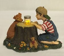 Boyds Bears. Yesterday's Child. Tommy & Scout. Lightning Bug Fun. #35011