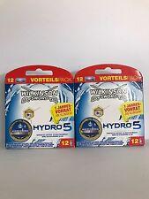 24 Wilkinson Sword Hydro 5 Ersatzklingen Rasierklingen VORTEILSPACK Neu / OVP