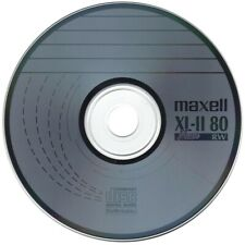 3 x Maxell CD-RW XL-II Audio Music Blank Discs Scratch Proof In Disc Sleeves