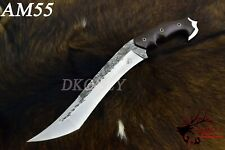 Unique Custom Handmade D2 Steel Hunting FULL TANG Tanto Bowie Knife  (DKONLY).