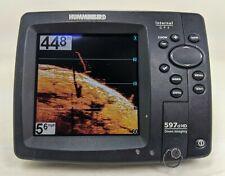 Humminbird 597ci HD Down Imaging Sonar/GPS/Fishfinder Internal GPS Head Unit