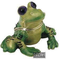 Little Paws Trinket Box Frog - Freddie - Craycombe Trinkets - 3901lptfro
