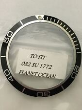 Inserto ghiera Omega Planet ocean  Bezel insert aftermarket parts watch