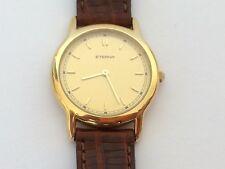 Vintage Rare ETERNA Quartz Gold Plated Swiss Made Ladie`s Wristwatch