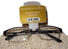 Readers Magnivision Reading Glasses Elegant Eyes +1.00 NWT #36 $25.00 Retail JB