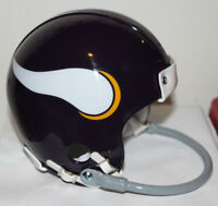 1967 Joe Kapp Minnesota Vikings Custom TB  Riddell Mini Helmet w/ 1 Bar