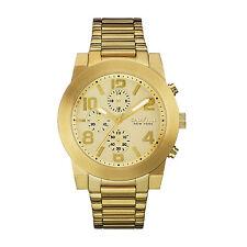 Caravelle New York Men's 44A105 Chronograph Quartz Gold Tone 44mm Watch