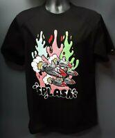 Men's Black Keys Splash T-shirt - Black