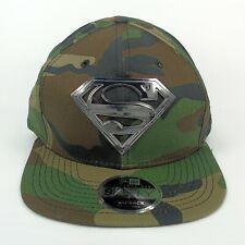 New Era Cap Men's DC Comics Superman Camo Hero 950 Snapback Hat - M/L