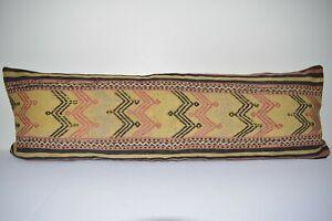 """16"""" X 48"""" Decorative Pillow -Long Lumbar Pillow -King Size Pillow Cover"""