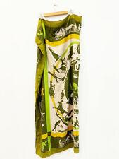 Designer Authentic Hermes Cashmere Silk Blend Amazing Large Women's Scarf