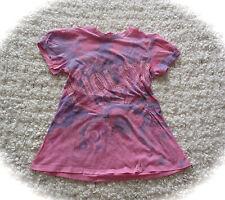 °Nolita pocket° tolles T-Shirt Tunika m. Nieten pink lila 14 152 158 164 TOP