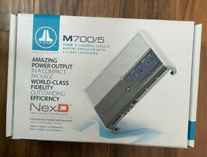 JL Audio M700/5 5 Ch. Class D Marine System Amplifier, 700 W BRAND NEW in BOX