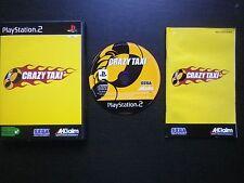 JEU Sony PLAYSTATION 2 PS2 : CRAZY TAXI (courses Sega COMPLET envoi suivi)