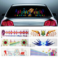 Multi-selective Car Sticker Music Rhythm LED Flash Light Sound Equalizer Lamp