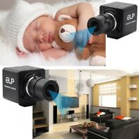 1080P 120fps  2.8-12mm Varifocal Mannual Iris Varifocal Lens Security USB Camera