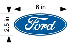FORD logo car & truck vehicle decals/stickers