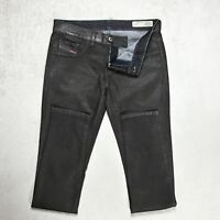Womens Diesel Livier-Sp Super Slim Jegging Trousers Size W30 L36 Stretch 0807V