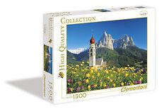 Church Saint Velentin - 1500 Piece Jigsaw Puzzle - Clementoni