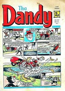 DANDY - 4th DECEMBER 1971 (30 Nov - 6 Dec) SUPERB 50th BIRTHDAY GIFT !!...beezer