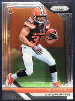 2018 Panini Prizm Nick Chubb Rookie Card #213 Cleveland Browns RC Near Mint +