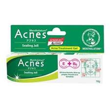 Mentholatum Acnes Sealing Jell Medicated Anti Acne Treatment Gel 18 grams