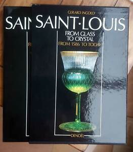 Saint Louis from Glass to Crystal from 1586 to Today (Hardback) english edition