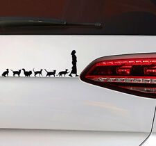 Los gatos Lady sticker gatos auto pegatinas Cat Lady kittn Kitty Fun sticker