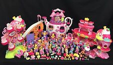 My Little Pony Ponyville 50+ Mini Figure Playsets Accessories Big G3 MLP Toy Lot