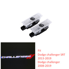 2X LED Courtesy Car Door Projector Shadow Lights For Dodge Challenger 08-19 SRT
