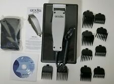 Andis MC-2 Hair Grooming Clippers Kit w/ Case , Attachments & Accessories