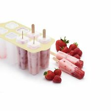 Kitchen Craft New Complete Ice Lolly Lollypop Moulds Maker Kit Full Set & Sticks