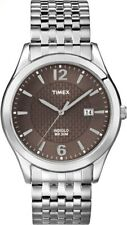 New Timex Men's T2N848 Elevated Classics Dress Watch Stainless Expansion Band