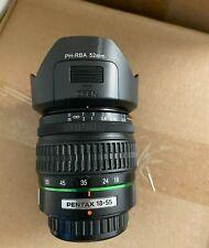 USA PH-RBA Flower Lens Hood 52mm For KR KX KM Pentax DA 18-55mm f/3.5-5.6 Lens